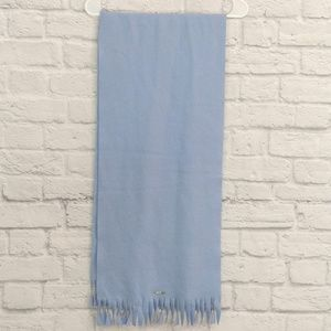 Geiger Collection | Pale Blue Wool Scarf Handmade